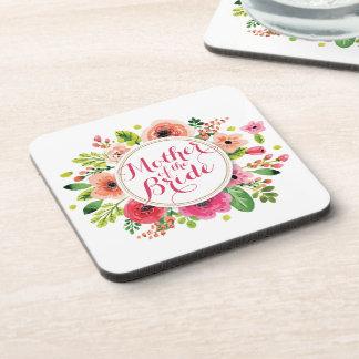 Mother of the Bride Watercolor Wedding | Coaster