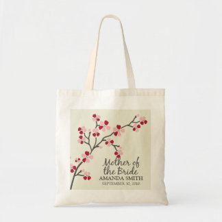 Mother of the Bride Wedding Party Gift Bag (red)