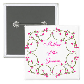 Mother of the Groom 15 Cm Square Badge