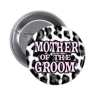 Mother of the Groom 6 Cm Round Badge