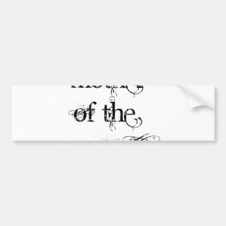 Mother of the Groom Bumper Sticker