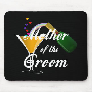 Mother of the Groom Champagne Toast Mouse Pad