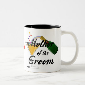 Mother of the Groom Champagne Toast Mug
