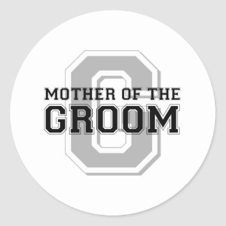Mother of the Groom Cheer Round Stickers