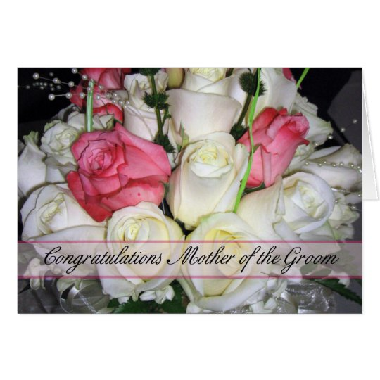 Mother of the Groom Congratulations Card
