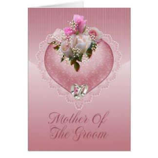 Mother Of The Groom Congratulations - Mother Of Th Greeting Cards