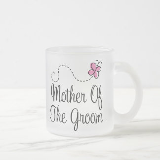 Mother Of The Groom Frosted Wedding Mug