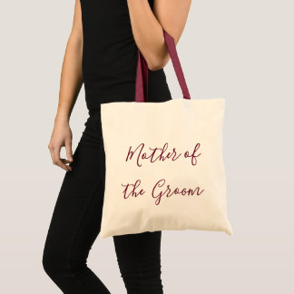 Mother of the Groom gift Tote Bag