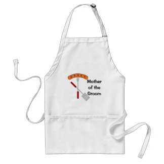 Mother of the Groom I Do BBQ Apron