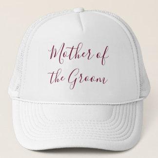 Mother of the Groom Lovely Trucker Hat