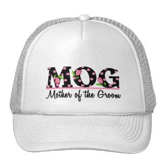 Mother of the Groom (MOG) Tulip Lettering Cap