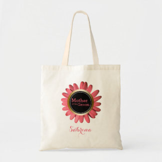 Mother of the Groom Monogrammed | Wedding Party Tote Bag