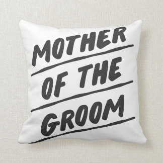 "Mother of the Groom Pillow - 16"" square"