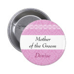 MOTHER OF THE GROOM Pink Damask and Lace Wedding