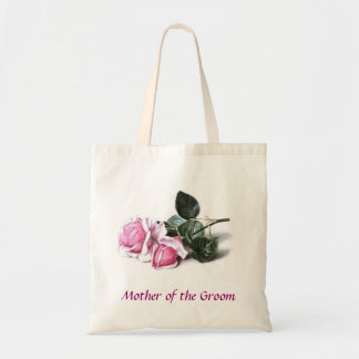 Mother of the Groom Pink Roses Bag