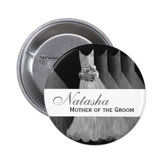 MOTHER OF THE GROOM Silver Gowns F201A Button