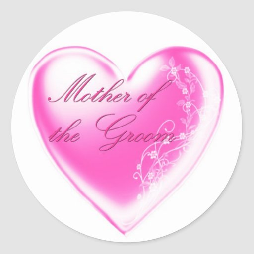 Mother of the Groom Sticker