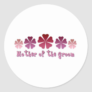 Mother of the Groom Stickers