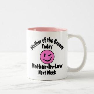 Mother of the Groom Two-Tone Coffee Mug