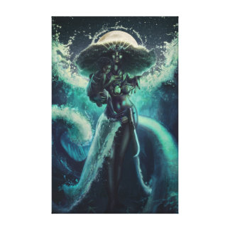 Mother of the Sea - Yemoja Canvas Print