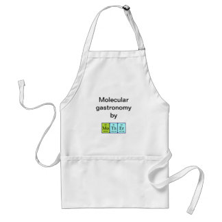 Mother periodic table name apron