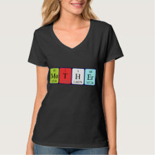 Mother Periodic table shirt