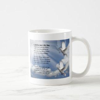 Mother poem - Doves Coffee Mug