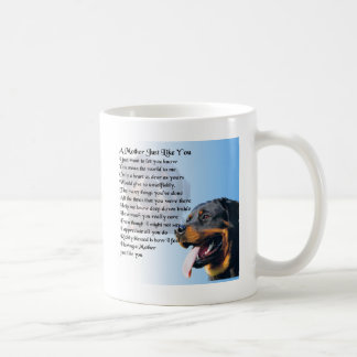Mother Poem - Rottweiler Design Coffee Mug