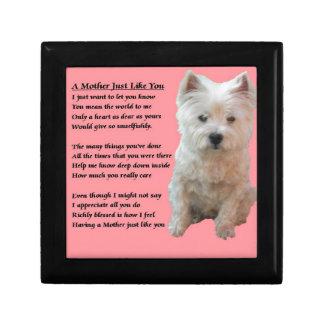 Mother Poem - Westie Gift Box