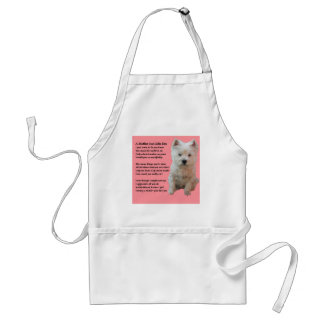 Mother Poem - Westie Standard Apron