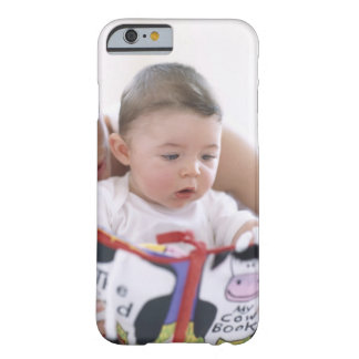 Mother reading to baby boy. Faces of a mother Barely There iPhone 6 Case