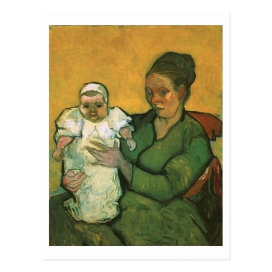 Mother Roulin with Her Baby, Vincent Van Gogh