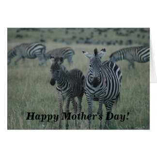 Mother s Day Card-On the Wild Side