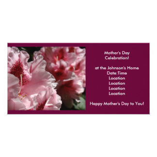 Mother s Day Celebration Invitation Invites Event Photo Greeting Card