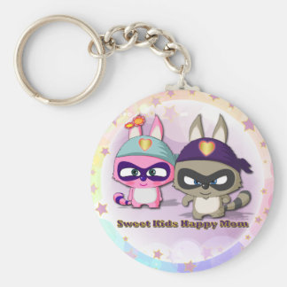 Mother s Day Cute Gift Funny Cartoon Keychain