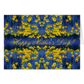 Mother s Day Daffodil Spring Fantasy Greeting Cards