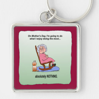 Mother s Day Funny Humorous Maw Keychain