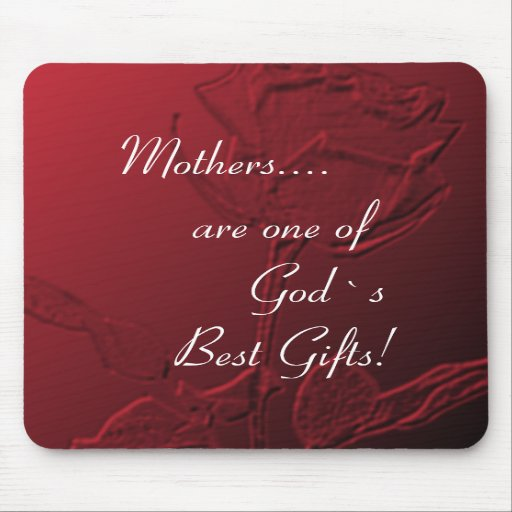 Mother`s Day Gift Mouse Pad