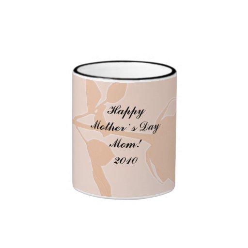 Mother`s Day Gift - Peach Rose Mug