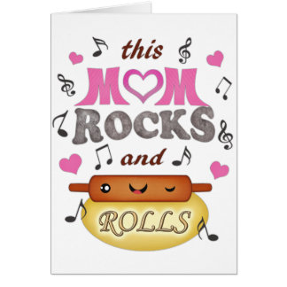 Mother s Day Mom s Birthday Rock Bake Card