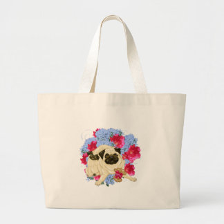 Mother s Day Momma and Baby Puggy Tote Bags