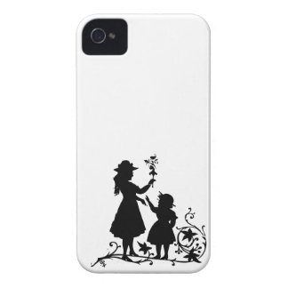 Mother s Day mother daughter vintage silhouette iPhone 4 Case-Mate Case