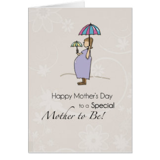 Mother s Day Pregnant Mom Greeting Cards
