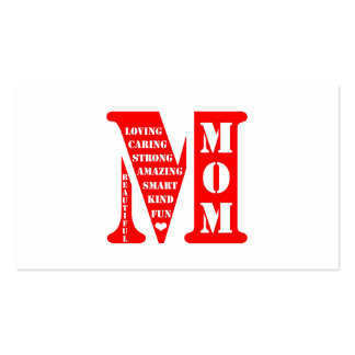 Mother s Day Present Business Card Templates