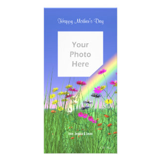 Mother s Day Spring Photo Card