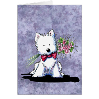 Mother s Day Westie Card
