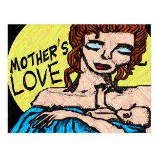 Mother s Love- Postcard