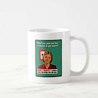 Mother Saying Don't Waste Gasoline Mugs