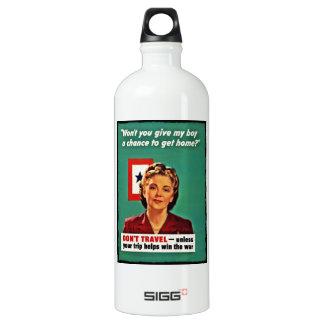 Mother Saying Don't Waste Gasoline SIGG Traveler 1.0L Water Bottle