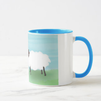 Mother Sheep & Lamb Mug